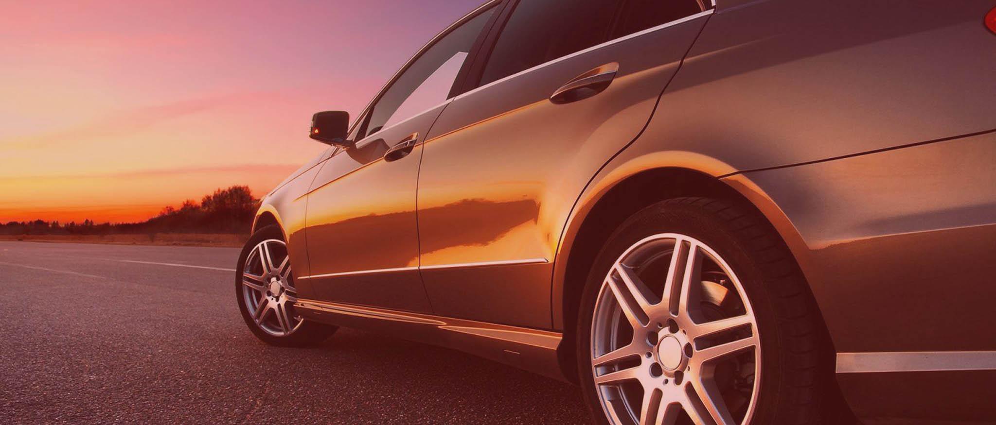 Hintergrund Auto mit Overlay